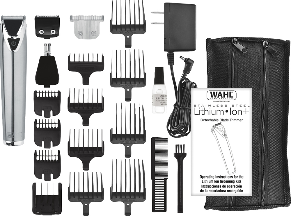 Wahl-Lithium-Ion-Slate-Stainless-Steel-Trimmer-9864